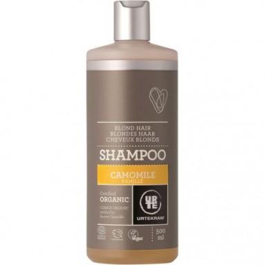 Shampoing URTEKRAM - Cheveux blonds à la camomille BIO 500 ml