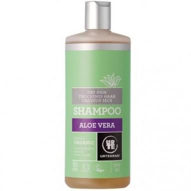 Shampooing URTEKRAM - Aloe vera pour cheveux secs - 500 ml
