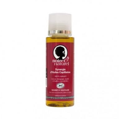 Synergie d'huiles capillaires BIO - 100 ml - Noire Ô naturel