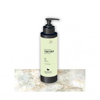 Après-shampooing à l'hibiscus et à l'argan BIO - 200 ml - HerbOri