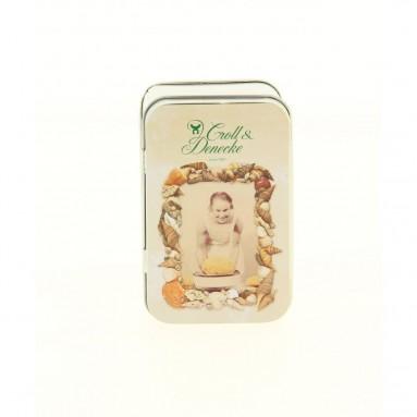 Boite à savon en fer blanc - savonnière - Croll & Denecke