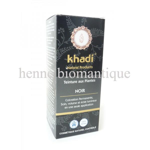 khadi noir agrandir prcdent suivant - Coloration Khadi Noir