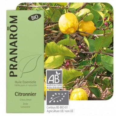 Huile essentielle de Citron BIO - 10 ml - Pranarôm