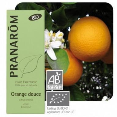 Huile essentielle d'Orange douce BIO - 10 ml - Pranarôm