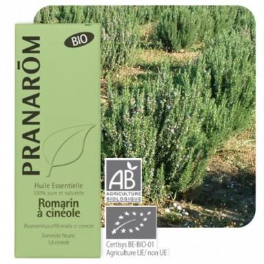 Huile essentielle de Romarin cinéole BIO - 10 ml - Pranarôm