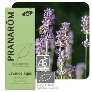 Huile essentielle de Lavande aspic BIO - 10 ml - Pranarôm
