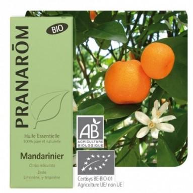 Huile essentielle de Mandarine zeste BIO - 10 ml - Pranarôm