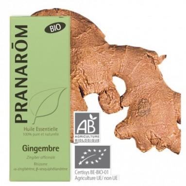 Huile essentielle de Gingembre BIO - 5 ml - Pranarôm