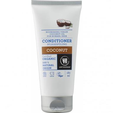 Après-shampooing pour cheveux normaux au nectar de noix de coco BIO Tube de 180ml - Urtekram