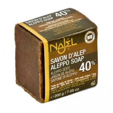 Savon d'Alep 40% Laurier NAJEL - 200 g
