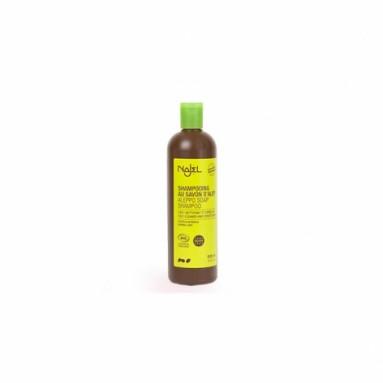 Shampooing 2 en 1 au savon d'Alep pour cheveux normaux - 500 ml - Najel