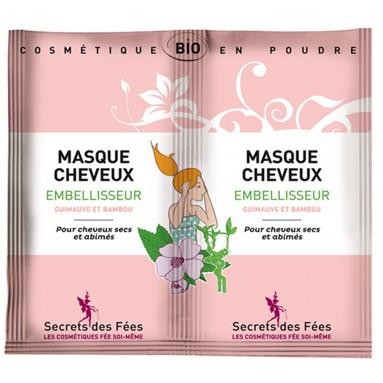 Masque cheveux embellisseur guimauve bambou - 2 x 8 g - Secrets des Fées