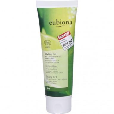 Gel coiffant citron et caféine - 125 ml - Eubiona