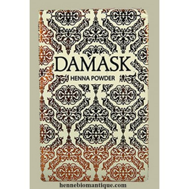 Henné Damask du Pakistan BAQ -  100 gr