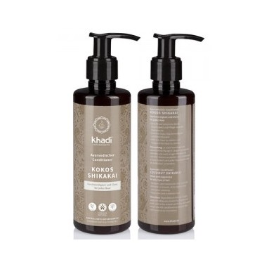 Après shampooing Ayurvédique Revitalisant Shikakai/Coco Bio - Khadi - 200 ml