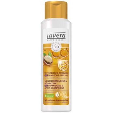 2 en 1 shampooing et après shampooing Cheveux très secs et abîmés - 250 ml - Lavera