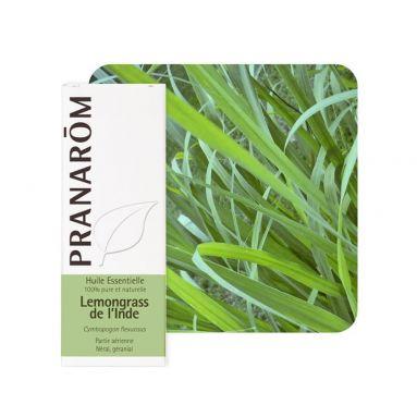 Huile essentielle de Lemongrass de L'Inde - 10 ml - Pranarôm