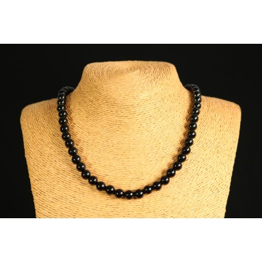 Onyx - Collier perle 40 cm - Nia