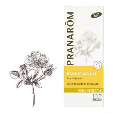 Huile végétale de Rose Musquée BIO - 50ml - Pranarôm