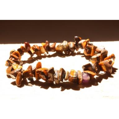 Bracelet baroque Oeil de tigre - NIA
