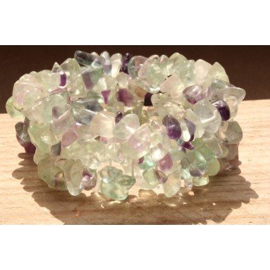 Bracelet baroque large Fluorite - NIA