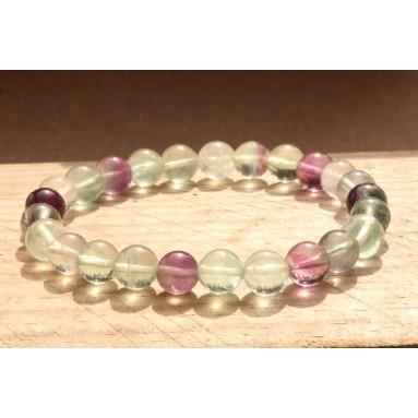 Bracelet perle Fluorite - NIA