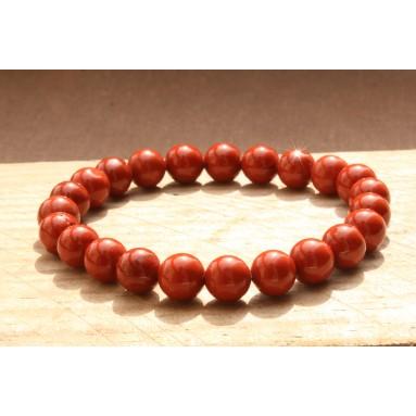 Bracelet perle Jaspe rouge - NIA