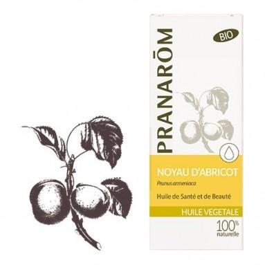 Huile de noyau d'abricot bio - 50ml - Pranarôm