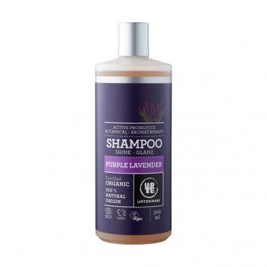 Shampoing cheveux normaux Purple lavender BIO 500 ml - Urtekram