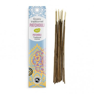 Encens traditionnel Indien Patchouli 20g
