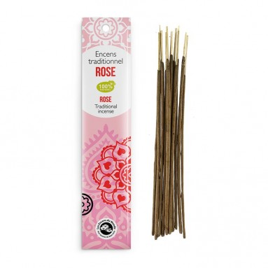 Encens traditionnel Indien Rose 20g