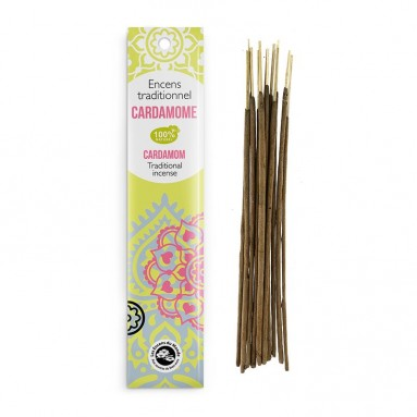 Encens traditionnel Indien Cardamone 20g