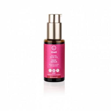 Huile capillaire ayurvédique Khadi - Rose repair - 50 ml