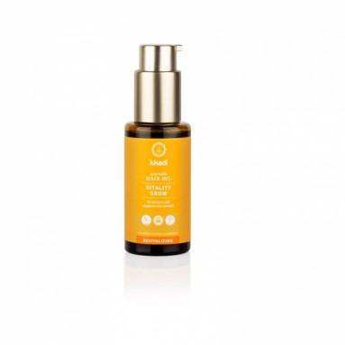 Huile capillaire ayurvédique Khadi - Vitality Grow - 50 ml