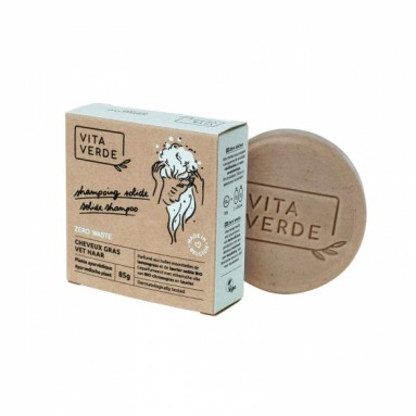 Shampooing solide Vita Verde - Cheveux gras - 85 g