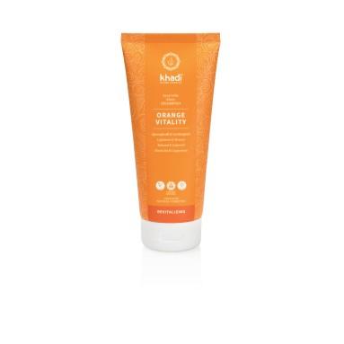 Shampoing Ayurvédique - Orange vitality - Khadi - 200ml