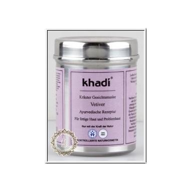 Masque Khadi au vétiver - peau grasse