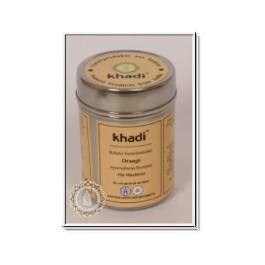 Masque Khadi à l'orange - peau mixte