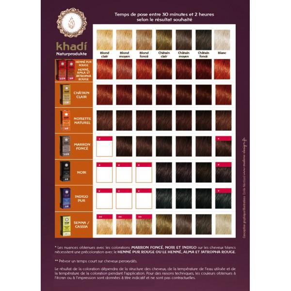 coloration khadi marron fonc. Black Bedroom Furniture Sets. Home Design Ideas