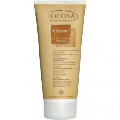 Shampoing gel Logona- Rhassoul et Patchouli - 200 ml
