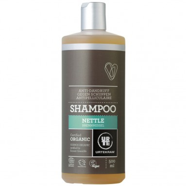 Shampoing URTEKRAM - Antipelliculaire aux orties BIO 500 ml