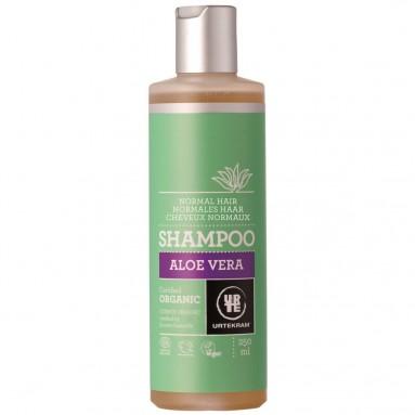 Shampoing URTEKRAM - Cheveux normaux à l'aloe vera BIO 250 ml