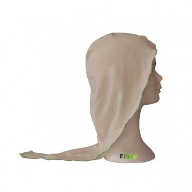 Turban sèche cheveux Bambou Fibao Ecru