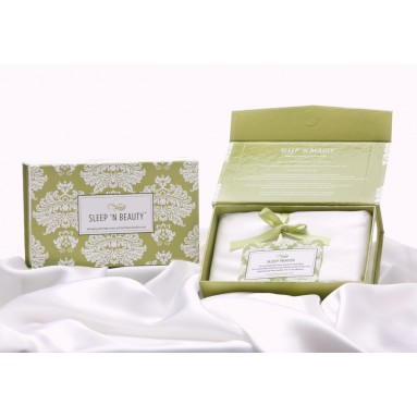 Coffret Double Sleep'n Beauty 100% soie - 50 x 75cm
