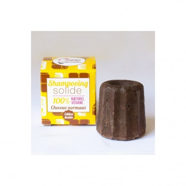 Shampoing solide au chocolat - Cheveux normaux - 55 g - Lamazuna