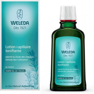 Lotion capillaire tonifiante au romarin - Weleda 100ml