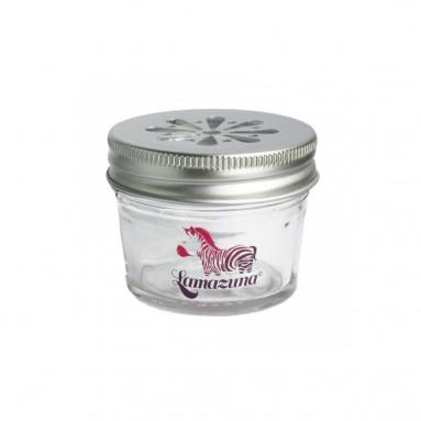 Pot de rangement en verre pour cosmétiques solides - Lamazuna