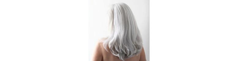 Soins cheveux blancs
