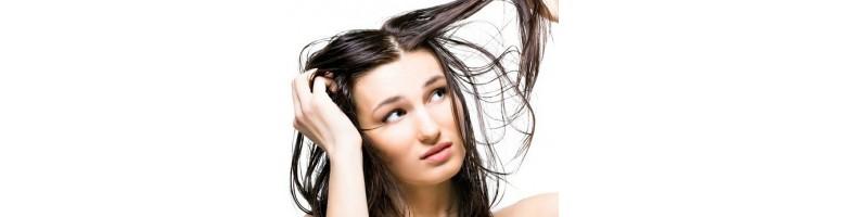 Soins cheveux gras